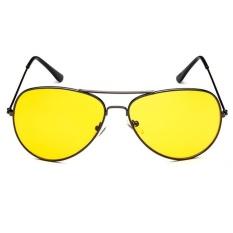 Aviator UV400 RB3089 Sunglasses - grey frame night vision lenses
