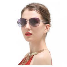 Harga Aviator Vintage Untuk Wanita Sunglasses Retro Kacamata Ungu Internasional Terbaik