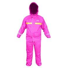 Jual Beli Online Axio Jas Hujan Europe Original Raincoat Pink