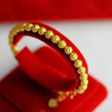 B142 Manik Manik Cahaya Berlapis Emas Gelang Tiongkok Diskon 50