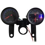Beli B733 Z 13000 Rpm Warna Ganda Memimpin Sinyal Digital Speedometer Sepeda Motor Lampu Latar Odometer Takometer Hitam Dengan Kartu Kredit