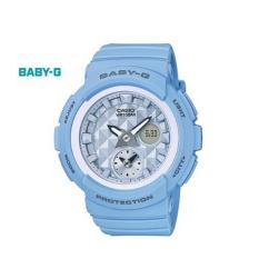 Kualitas Baby G Bga 190Be 2A Jam Tangan Wanita Biru Resin Band Casio Baby G