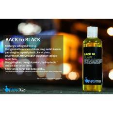 Back To Black Nanotech Protection Dressing Plastik Karet Trim Cover Mesin Kembali Hitam Alami