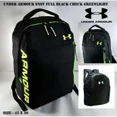 Backpack Under Armour SNSV Full Black Check Greenlight