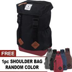 Bag & Stuff - Forester Backpack 30 Liter + FREE 1 pc Pentagon Bag Up To 8 Inch Random Color/ Tas Pria / Tas Wanita / Tas Laptop / Tas Sekolah / Ransel Pria / Ransel Wanita / Ransel Sekolah / Ransel Murah / Tas Punggung