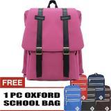 Toko Bag Stuff Korea M2M Backpack Free 1 Pc Oxford Backpack Random Color Lengkap Di Jawa Barat