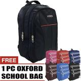 Diskon Bag Stuff Pollorocco Laptop Backpack Up To 14 Inchi Free 1 Oxford Casual Backpack Tas Pria Tas Wanita Tas Laptop Tas Sekolah Ransel Pria Ransel Wanita Ransel Sekolah Ransel Murah Branded