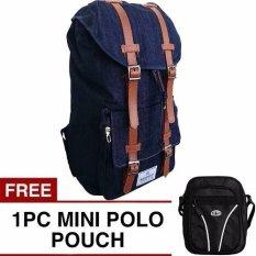 Jual Bag Stuff Respect Mountain Backpack Free Mini Poloclub Pouch Selempang Murah Di Jawa Barat