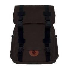 Harga Bag Stuff Canvas Galileo Backpack Coklat Kopi Murah