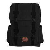 Jual Bag Stuff Canvas Galileo Backpack Hitam Grosir