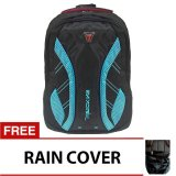 Promo Bag Stuff Daytona Treaking Laptop Backpack Dan Raincover Biru Bag Stuff