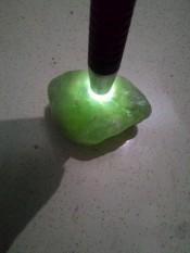 Bahan / Rough Batu Giok Air / Serpentine / Neon