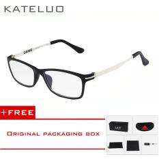 Promo Kateluo Baja Karbon Wolfram Komputer Kacamata Anti Tired Radiasi Tahan Kacamata Bingkai Kacamata 13025 Membeli 1 Mendapatkan 1 Hadiah