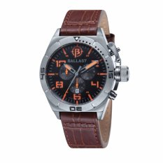 Toko Ballast Amphion Bl 3121 04 Pria Brown Genuine Leather Strap Watch Intl Termurah Indonesia