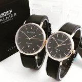 Diskon Produk Balmer Original Bl7913 Jam Tangan Couple Serries Black Gold Leather Strap