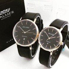 Spesifikasi Balmer Original Bl7913 Jam Tangan Couple Serries Black Gold Leather Strap Lengkap Dengan Harga
