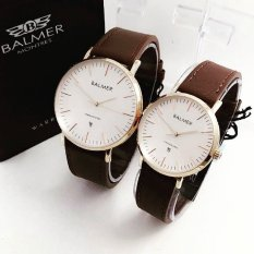 Harga Balmer Bl 7913 Dbg Jam Tangan Couple Serries Dark Brown Gold Leather Strap Yg Bagus