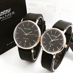 Spesifikasi Balmer Bl7913 Original Jam Tangan Couple Serries Black Gold Leather Strap