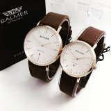 Beli Balmer Bl7913 Original Jam Tangan Couple Serries Dark Brown Gold Leather Strap Di Dki Jakarta