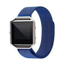 Untuk Fitbit Blaze Menonton 40 Mm Anti Karat Jaring Jam Tangan Tali Bingkai Magnetik Gesper Milanese Putaran Penggantian Tali untuk fitbit Blaze Kebugaran Jam Tangan Mawar Gold-Internasional
