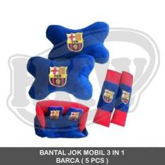 Bantal 3 In 1 Barca Mobil Fortuner 2008