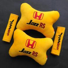 Bantal Mobil 2 in 1 - Honda Jazz RS (Kuning)