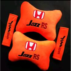 Bantal Mobil 2 in 1 - Honda Jazz RS (Orange)