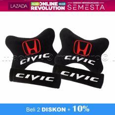 Bantal Mobil 2in1 Honda Civic- Merah