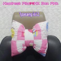 bantal pita headrest sandaran kepala pita onde pinkIDR99000. Rp 99.000 .