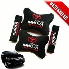 Bantal Mobil Toyota Kijang INNOVA - 2 in 1 (Car Seat Sandaran Jok Mobil)