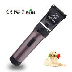 Baorun P6 (Brown) Electric Professional High Power Rechargeable Electric  Pet Anjing Rambut Pemangkas Rendah 15dc71fd97