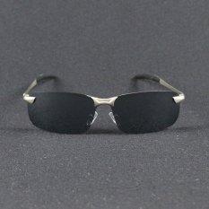 Harga Baru Kacamata Terpolarisasi Pria Polaroid Mengemudi Matahari Kacamata Ray Merek Fashion Desainer Laki Laki 3043 Silver Internasional New
