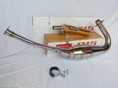 (BARU) Knalpot Racing Creampie Jogja GOLD ZZ1 Untuk Ninja 150 R- SS- RR