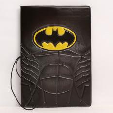 Batman Perjalanan Tiket Holder Kantong Paspor Multifungsi Dompet Kartu Tas Organizer Tas Tas Travel