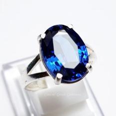 Batu Cincin King Sapphire Ring Perak Istimewa