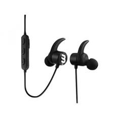 Beamin Lunar8 Premium Sport Nirkabel Bluetooth Headphone, Berolahraga, Berlari, Pembatalan Kebisingan, Hands Free Calling, Keringat Bukti, Hitam dengan Carrying Case-Intl