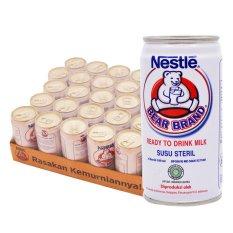 Review Pada Bear Brand Ready To Drink Milk Tin 189Ml Karton Isi 30