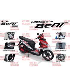 Toko Beat Sporty Esp Honda Ori Paket Aksesoris Komplit Red 6 Item Online