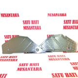 Diskon Beat Street Sporty Honda Ori Double Step Floor Foot Step Metal Branded