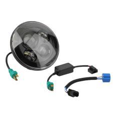 Beau Berkualitas Baik Round 40 W Baru LED Proyektor Hitam Lampu Depan Mobil untuk Mobil Hitam-Internasional