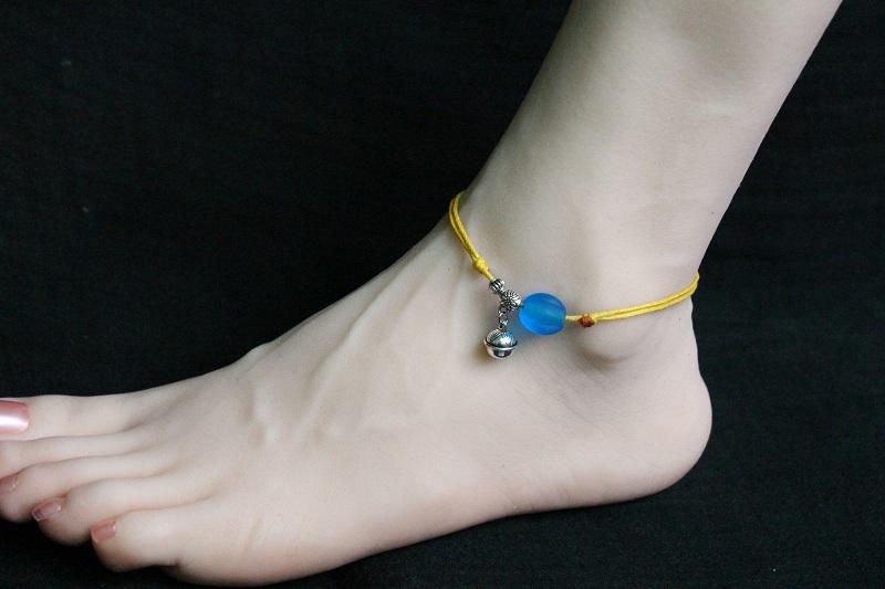 Harga preferensial Gelang kaki pria Gelang kaki perempuan Gelang kaki Tali merah DIY hadiah Tahun natal hadiah ulang tahun gelang Gelang kaki pasangan beli ...