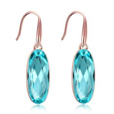 Bella & Co. Earrings AKE045-B Aksesoris Perhiasan Anting Lapis Emas Blue