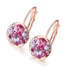 Bella & Co. Earrings AKE046-A-1 Aksesoris Perhiasan Anting Lapis Emas Red