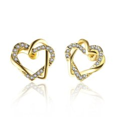 Bella & Co. Earrings LKN18KRGPE747 Aksesoris Perhiasan Anting Lapis Emas