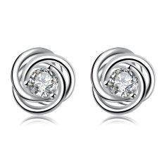 Bella & Co. Earrings SPE010 Aksesoris Perhiasan Anting Lapis Silver
