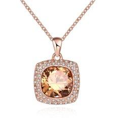 Review Tentang Bella Co Necklace Akn067 A Aksesoris Perhiasan Kalung Lapis Emas