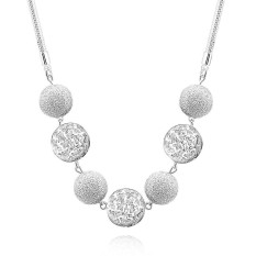 Bella & Co. Necklace LKNSPCN680 Aksesoris Perhiasan Kalung Lapis Silver