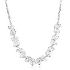 Bella & Co. Necklace LKNSPCN911 Aksesoris Perhiasan Kalung Lapis Silver