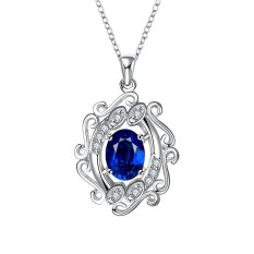 Bella & Co. Necklace SPN048-A Aksesoris Perhiasan Kalung Lapis Silver