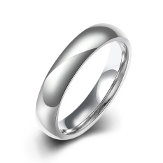 Bella & Co Popular Party Ring LKNSPCR613-8 Silver Plated Aksesoris Perhiasan Cincin